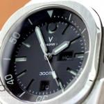 Closeup of dial